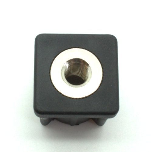 Heavy duty square tube inserts stainless steel thread
